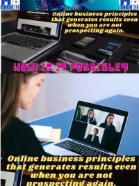3 ONLINE BUSINESS PRINCIPLES
